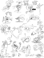 Livestream Sketches by JoeyWaggoner