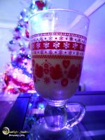 Eggnog By The Tree by MoonlightShadow5378