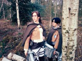 Hanji and Levi by silkybean
