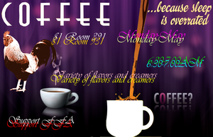 Coffee Poster 2 by Seras22