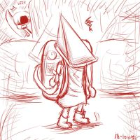 Pyramid Head and... by tip2006