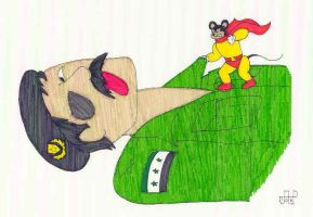Mighty Mouse Vs. Saddam... by EmperorNortonII