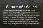 Future n0t Found by Mechanismatic