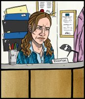 Pam Beesly... by stayte-of-the-art