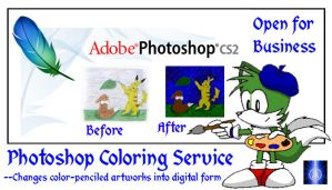 Photoshop Coloring Service by BB-K