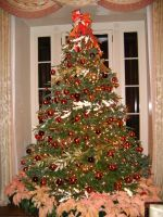 Blair House Christmas Tree 2009 by CrappyMSPaintArt