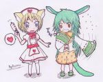 AT : Nurse and Patient by AyaRoulane