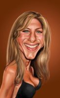 Jennifer Aniston by edvanderlinden