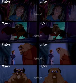 Handsome and the Beast - Before and After 3 by Miranh