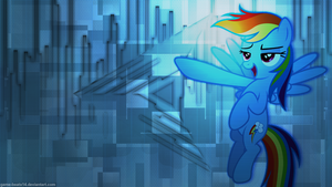 Rainbow Dash Wallpaper 3 by Game-BeatX14
