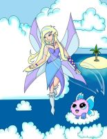 Neopets Air Faerie by xjanicax