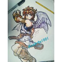 Pit from Kid icarus by AceArtz1001