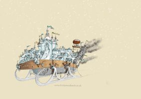 Mortal Engines - Anchorage by DragonLady4