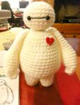 Baymax Big Hero 6 Amigurumi Crochet Doll 2 by Spudsstitches