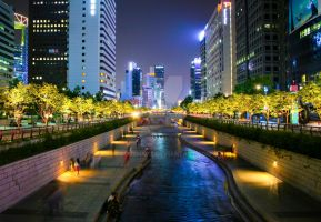 Seoul Creek by fotoshane