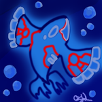 Kyogre Chibi by piratedragon0402