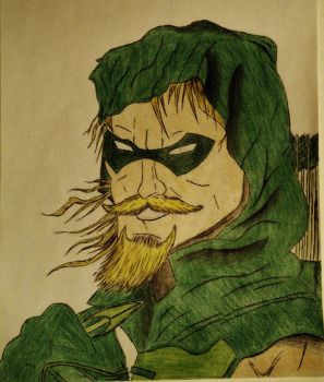 The Green Arrow by rage098