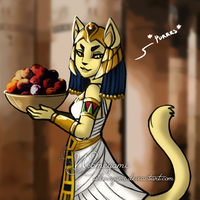 Servant of Bastet by Webmegami