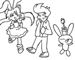 Stage Clear! ( Uncolored + Animated ) by TheRealFry1