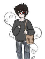 Human!Karkat - Witching Season by ManiacTenshi
