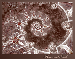 Flowers and Pearls Lace by pralinkova-princezna
