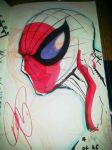 NEW SPIDER-MAN SKETCHBOOK WIP by U-D0NT-KN0W-ME