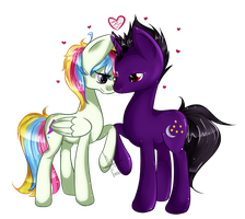 Love is in bloom! by Lumicorn