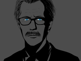 TDKR : Commissioner Gordon by ne2nyeon