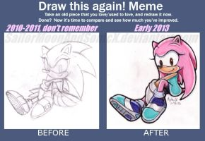Charon Draw Again Meme by SailorMoonAndSonicX