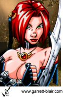 Bloodrayne by Mythical-Mommy