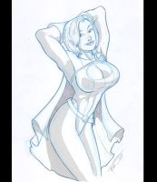 Power Girl by GSX750
