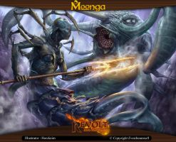 Moonga - Mermaid from the Kingdom of Waters by moonga