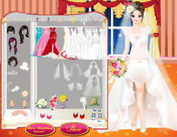 Valentine Bride Style - Wedding Dress up Games by willbeyou