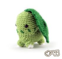 Chikorita Pokemon Amigurumi by mengymenagerie