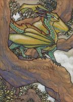 Dragon Tree ACEO by thedancingemu