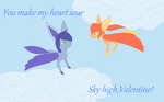 Skyfue Valentine by caitkitty
