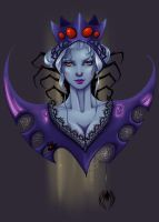 Not Drow by AberrantKitty