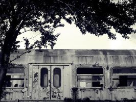 Old train by queenvd