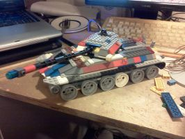 the ISK-1 heavy tank by ace00004