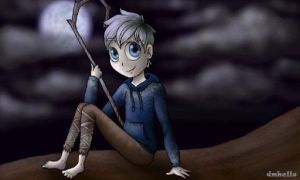 Jack Frost and the Moon by dmhello