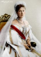 Young Empress Alexandra by GuddiPoland
