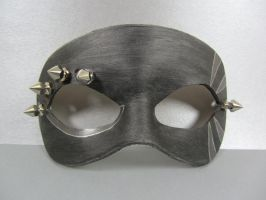 Black Spikey mask 2 by maskedzone