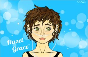 Hazel Grace - The Fault In Our Stars by SpectacularAna