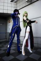 Lelouch and C.C. by CosLove