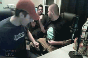 Sly farts on Dan.gif by shadowprince116
