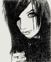 Andy Biersack by cici1000
