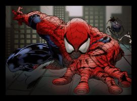 WallCrawler SpiderMan collab by contey