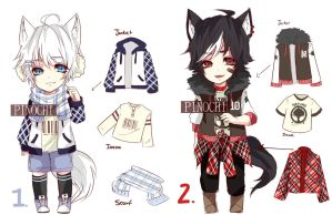 Casual adopt (set price) CLOSED by Pinochi