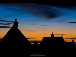 Sunset over Swindon by GMCPhotographics