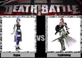 Death Battle idea Aqua vs Lightning by kingdomofsantiago1
